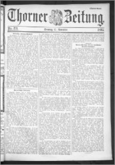 Thorner Zeitung 1895, Nr. 271 Zweites Blatt