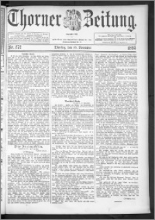 Thorner Zeitung 1895, Nr. 272