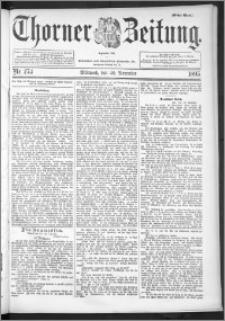 Thorner Zeitung 1895, Nr. 273 Erstes Blatt