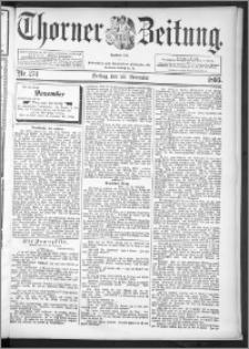 Thorner Zeitung 1895, Nr. 274