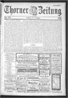 Thorner Zeitung 1895, Nr. 276 Zweites Blatt