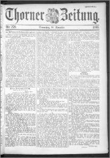 Thorner Zeitung 1895, Nr. 279 Zweites Blatt