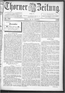 Thorner Zeitung 1895, Nr. 280