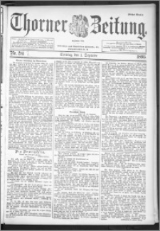 Thorner Zeitung 1895, Nr. 282 Erstes Blatt