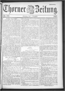 Thorner Zeitung 1895, Nr. 282 Zweites Blatt