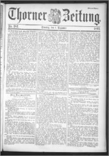 Thorner Zeitung 1895, Nr. 282 Drittes Blatt