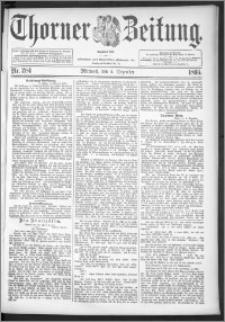 Thorner Zeitung 1895, Nr. 284