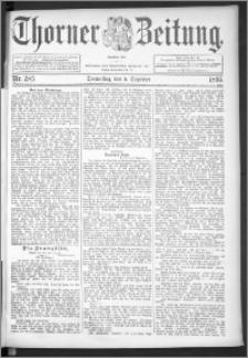 Thorner Zeitung 1895, Nr. 285