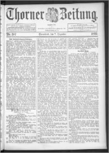 Thorner Zeitung 1895, Nr. 287