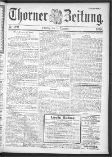 Thorner Zeitung 1895, Nr. 289 Zweites Blatt