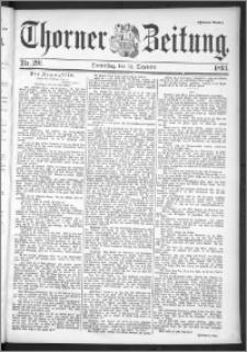 Thorner Zeitung 1895, Nr. 291 Zweites Blatt