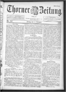 Thorner Zeitung 1895, Nr. 292 Erstes Blatt