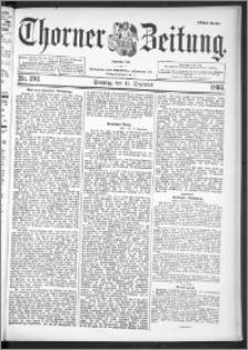 Thorner Zeitung 1895, Nr. 294 Erstes Blatt