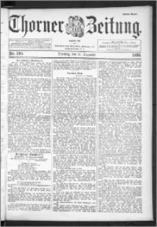 Thorner Zeitung 1895, Nr. 295 Erstes Blatt