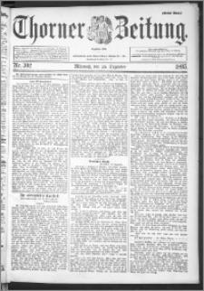 Thorner Zeitung 1895, Nr. 302 Erstes Blatt