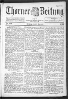 Thorner Zeitung 1895, Nr. 304 Erstes Blatt