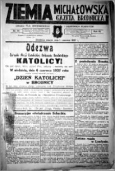 Ziemia Michałowska (Gazeta Brodnicka), R. 1937, Nr 61