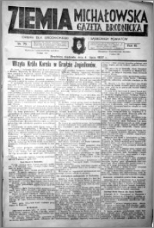 Ziemia Michałowska (Gazeta Brodnicka), R. 1937, Nr 75