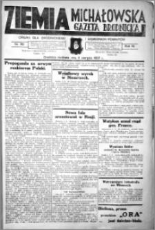 Ziemia Michałowska (Gazeta Brodnicka), R. 1937, Nr 90
