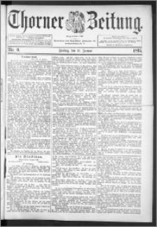 Thorner Zeitung 1895, Nr. 9