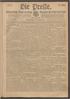 Die Presse 1913, Jg. 31, Nr. 8 Zweites Blatt, Drittes Blatt