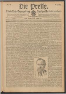 Die Presse 1913, Jg. 31, Nr. 16 Zweites Blatt, Drittes Blatt, Viertes Blatt