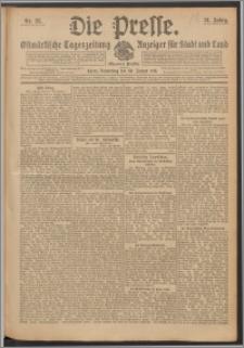 Die Presse 1913, Jg. 31, Nr. 25 Zweites Blatt, Drittes Blatt
