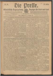 Die Presse 1913, Jg. 31, Nr. 48 Zweites Blatt, Drittes Blatt
