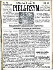 Pielgrzym, pismo religijne dla ludu 1881 nr 140