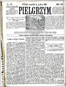 Pielgrzym, pismo religijne dla ludu 1881 nr 141