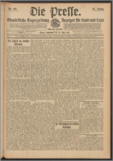 Die Presse 1913, Jg. 31, Nr. 119 Zweites Blatt, Drittes Blatt