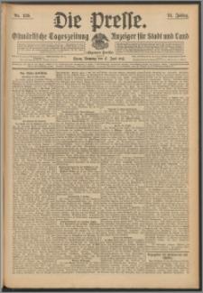 Die Presse 1913, Jg. 31, Nr. 139 Zweites Blatt, Drittes Blatt