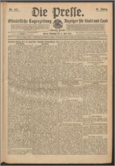 Die Presse 1913, Jg. 31, Nr. 157 Zweites Blatt, Drittes Blatt