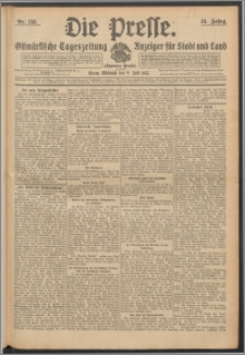 Die Presse 1913, Jg. 31, Nr. 158 Zweites Blatt, Drittes Blatt