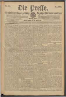 Die Presse 1913, Jg. 31, Nr. 186 Zweites Blatt, Drittes Blatt, Viertes Blatt, Fünftes Blatt