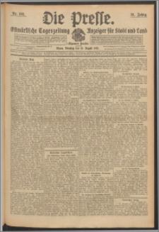 Die Presse 1913, Jg. 31, Nr. 193 Zweites Blatt, Drittes Blatt