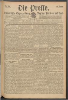 Die Presse 1913, Jg. 31, Nr. 215 Zweites Blatt, Drittes Blatt
