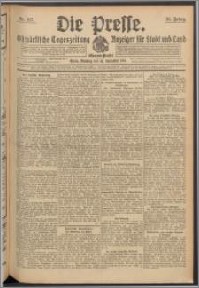 Die Presse 1913, Jg. 31, Nr. 217 Zweites Blatt, Drittes Blatt, Viertes Blatt