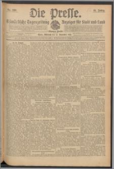 Die Presse 1913, Jg. 31, Nr. 266 Zweites Blatt, Drittes Blatt