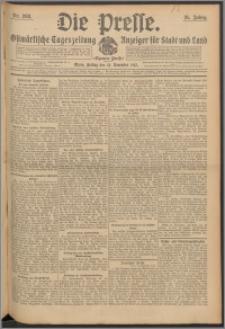 Die Presse 1913, Jg. 31, Nr. 268 Zweites Blatt, Drittes Blatt