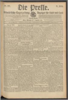 Die Presse 1913, Jg. 31, Nr. 283 Zweites Blatt, Drittes Blatt