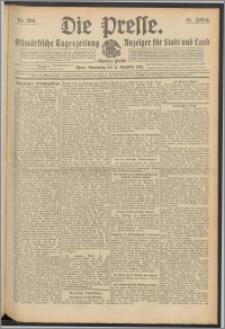 Die Presse 1913, Jg. 31, Nr. 290 Zweites Blatt, Drittes Blatt