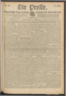 Die Presse 1913, Jg. 31, Nr. 291 Zweites Blatt, Drittes Blatt, Viertes Blatt