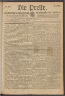 Die Presse 1913, Jg. 31, Nr. 305 Zweites Blatt, Drittes Blatt, Viertes Blatt