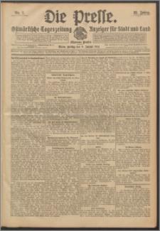 Die Presse 1914, Jg. 32, Nr. 7 Zweites Blatt, Drittes Blatt