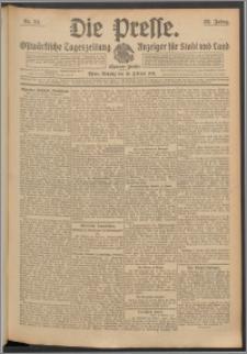 Die Presse 1914, Jg. 32, Nr. 34 Zweites Blatt, Drittes Blatt