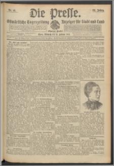 Die Presse 1914, Jg. 32, Nr. 41 Zweites Blatt, Drittes Blatt
