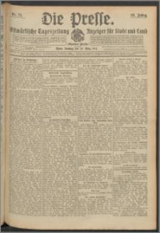 Die Presse 1914, Jg. 32, Nr. 75 Zweites Blatt, Drittes Blatt, Viertes Blatt, Fünftes Blatt