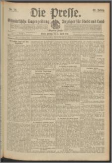 Die Presse 1914, Jg. 32, Nr. 79 Zweites Blatt, Drittes Blatt, Viertes Blatt
