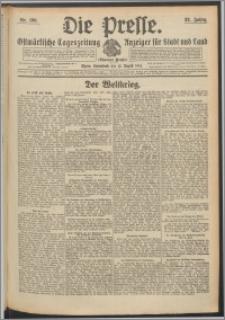 Die Presse 1914, Jg. 32, Nr. 190 Zweites Blatt